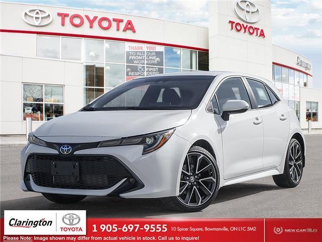 2021 Toyota Corolla Hatchback Base (Stk: 21552) in Bowmanville - Image 1 of 23