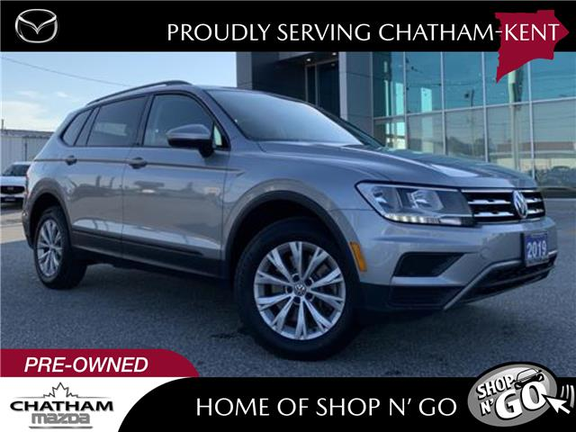 2019 Volkswagen Tiguan Trendline (Stk: UM2636) in Chatham - Image 1 of 25