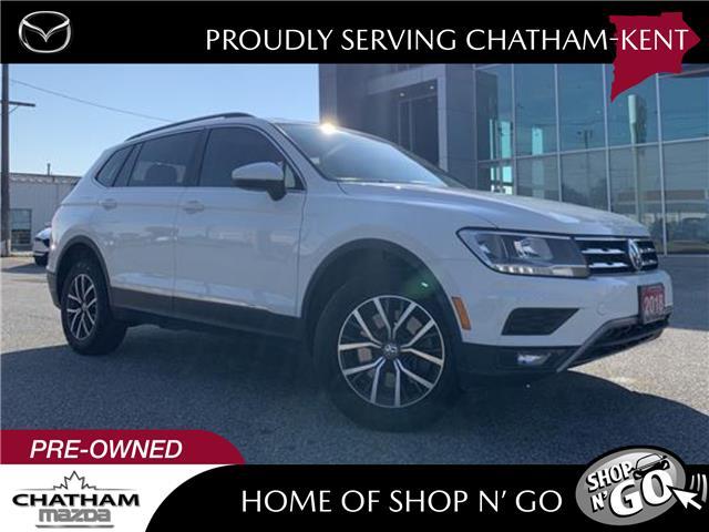 2018 Volkswagen Tiguan Comfortline (Stk: UM2637) in Chatham - Image 1 of 27