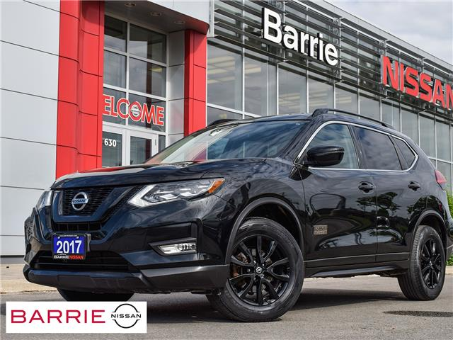 2017 Nissan Rogue SV (Stk: 21290A) in Barrie - Image 1 of 29