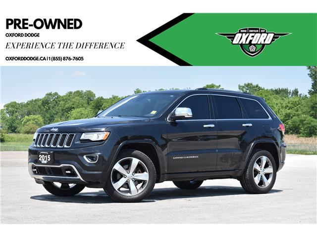 2015 Jeep Grand Cherokee Overland (Stk: 21458A) in London - Image 1 of 25