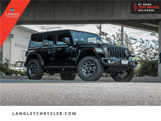 2021 Jeep Wrangler Unlimited 4xe Rubicon (Stk: M734730) in Surrey - Image 1 of 28