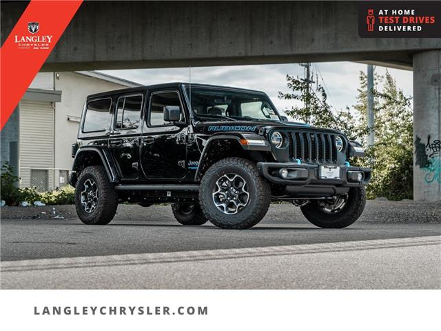 2021 Jeep Wrangler Unlimited 4xe Rubicon (Stk: M734724) in Surrey - Image 1 of 29