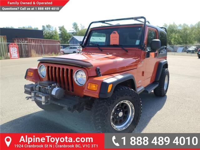 2006 Jeep TJ Sport (Stk: W201173A) in Cranbrook - Image 1 of 24