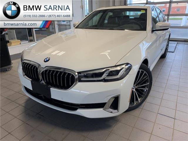 2021 BMW 530i xDrive (Stk: B2125) in Sarnia - Image 1 of 10