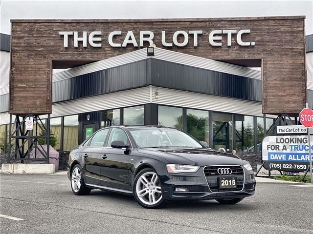 2015 Audi A4 2.0T Technik plus (Stk: 21312) in Sudbury - Image 1 of 26