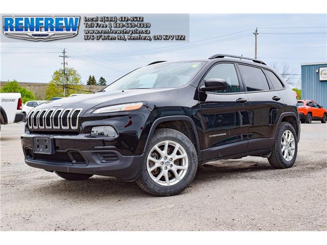 2018 Jeep Cherokee Sport (Stk: M010A) in Renfrew - Image 1 of 12