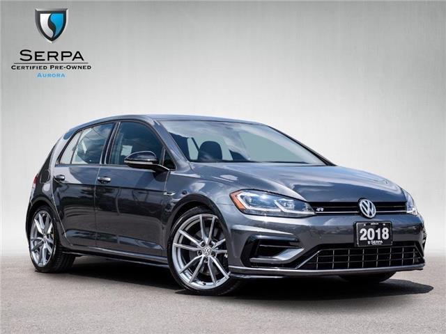 2018 Volkswagen Golf R 2.0 TSI (Stk: P1529) in Aurora - Image 1 of 27