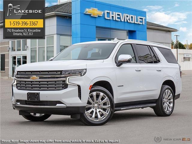 2021 Chevrolet Tahoe Premier (Stk: T1183) in Kincardine - Image 1 of 23