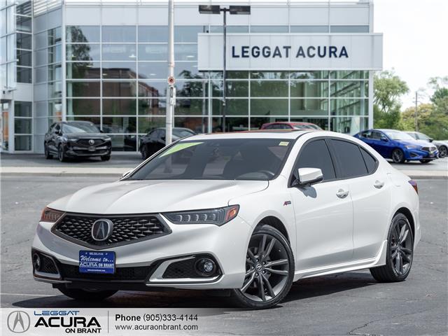 2019 Acura TLX Tech A-Spec (Stk: 4487) in Burlington - Image 1 of 26