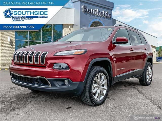 2015 Jeep Cherokee Limited (Stk: CE2129A) in Red Deer - Image 1 of 25
