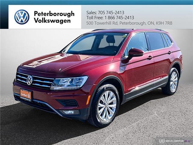 2018 Volkswagen Tiguan Comfortline (Stk: 11677-1) in Peterborough - Image 1 of 23