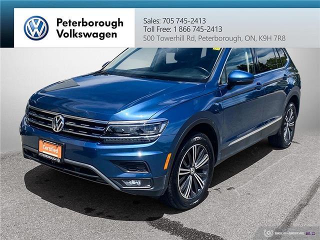 2019 Volkswagen Tiguan Highline (Stk: 2111) in Peterborough - Image 1 of 23
