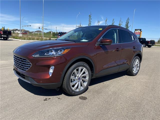 2021 Ford Escape Titanium Hybrid (Stk: MSC026) in Fort Saskatchewan - Image 1 of 23