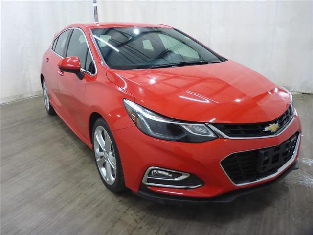 2018 Chevrolet Cruze Premier Auto (Stk: 21060928) in Calgary - Image 1 of 24