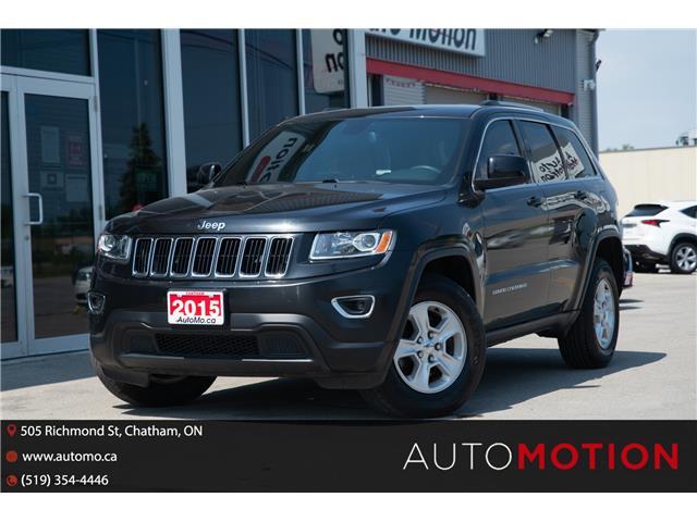 2015 Jeep Grand Cherokee Laredo (Stk: 211017) in Chatham - Image 1 of 21
