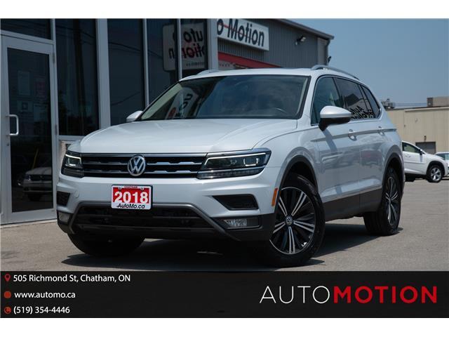 2018 Volkswagen Tiguan Highline (Stk: 211069) in Chatham - Image 1 of 26