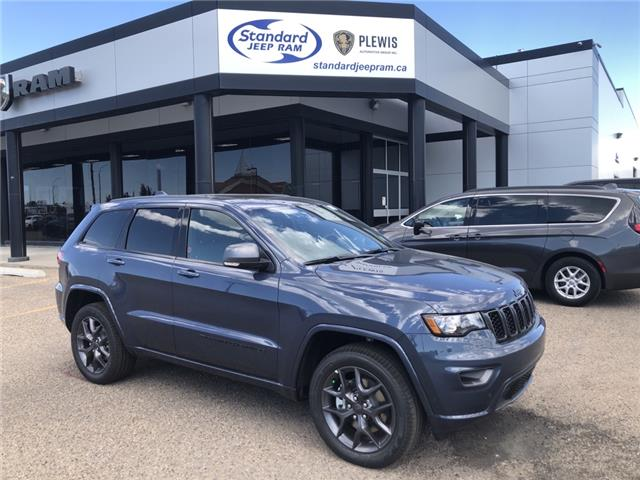2021 Jeep Grand Cherokee Limited (Stk: 5M149) in Medicine Hat - Image 1 of 18