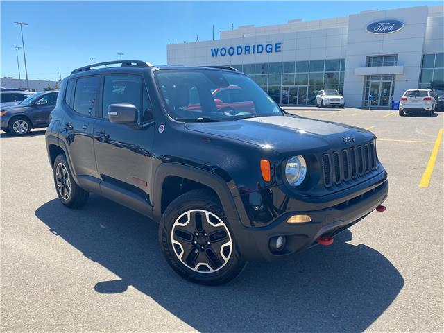 2016 Jeep Renegade Trailhawk (Stk: M-547A) in Calgary - Image 1 of 20