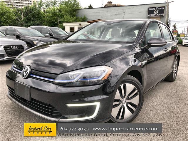2018 Volkswagen e-Golf Comfortline (Stk: 909511) in Ottawa - Image 1 of 25