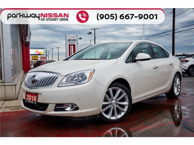 2016 Buick Verano Leather (Stk: N21356A) in Hamilton - Image 1 of 24