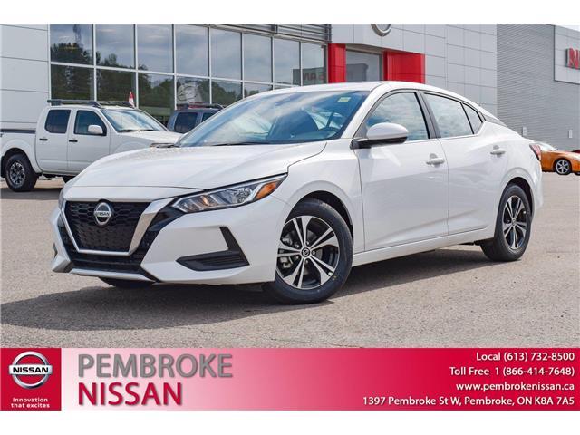 2021 Nissan Sentra SV (Stk: 21133) in Pembroke - Image 1 of 30