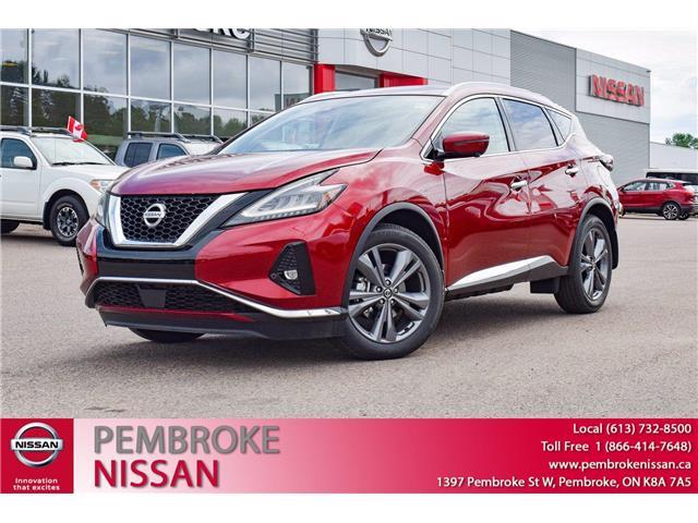 2021 Nissan Murano Platinum (Stk: 21139) in Pembroke - Image 1 of 30