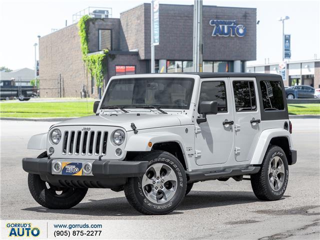 2016 Jeep Wrangler Unlimited Sahara (Stk: 332602) in Milton - Image 1 of 20