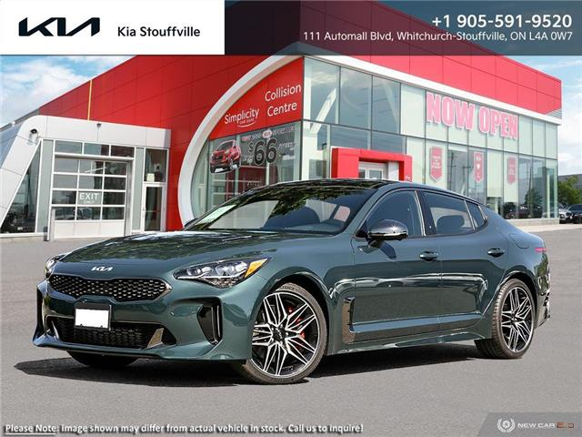 2022 Kia Stinger GT Elite - Suede Package (Stk: 22014) in Stouffville - Image 1 of 23