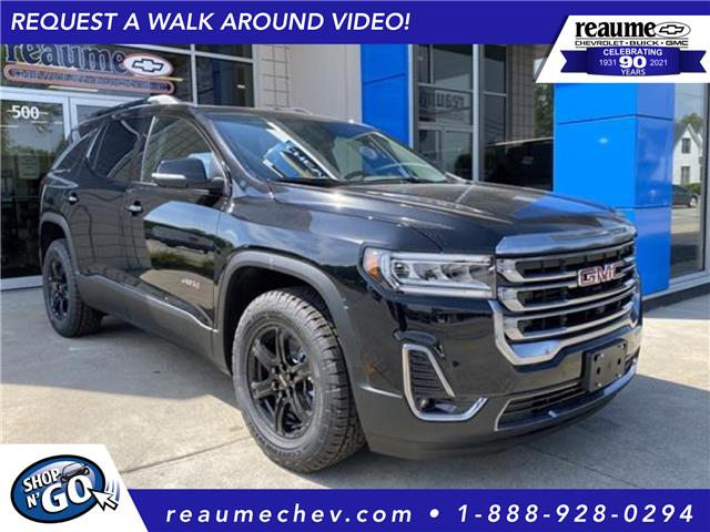 2021 GMC Acadia AT4 (Stk: 21-0569) in LaSalle - Image 1 of 20