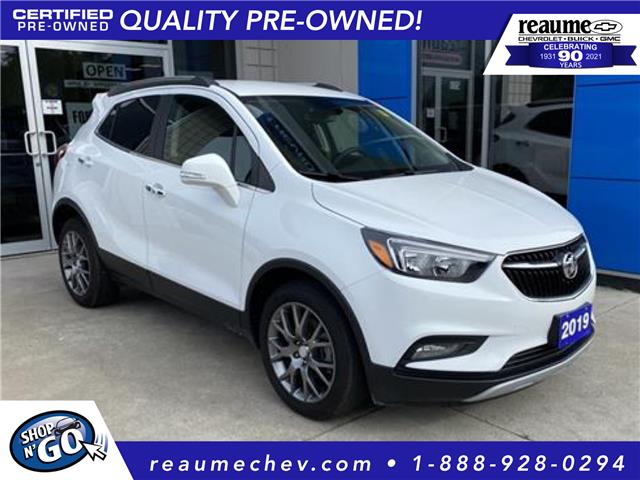 2019 Buick Encore Sport Touring (Stk: L-4618) in LaSalle - Image 1 of 18