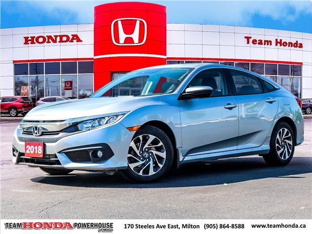 2018 Honda Civic EX (Stk: 3891) in Milton - Image 1 of 27