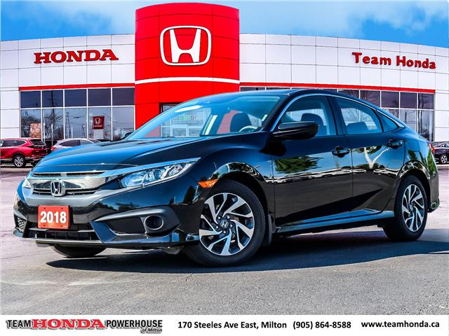 2018 Honda Civic EX (Stk: 21055A) in Milton - Image 1 of 30