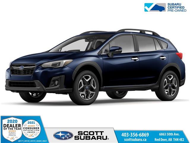 2020 Subaru Crosstrek Limited JF2GTANC8LH246235 SS0457 in Red Deer