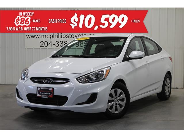 2016 Hyundai Accent GL (Stk: C203910A) in Winnipeg - Image 1 of 27