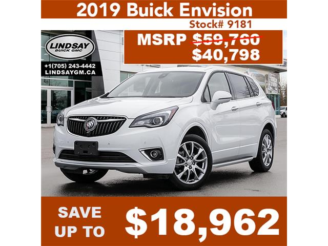 2019 Buick Envision Premium II (Stk: 9181) in Lindsay - Image 1 of 28