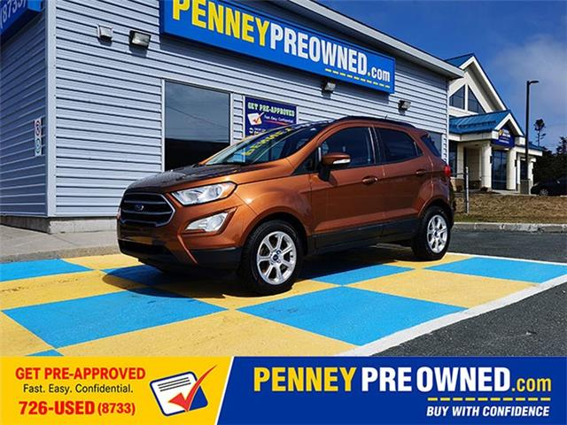2018 Ford EcoSport SE (Stk: A21013) in Mount Pearl - Image 1 of 15