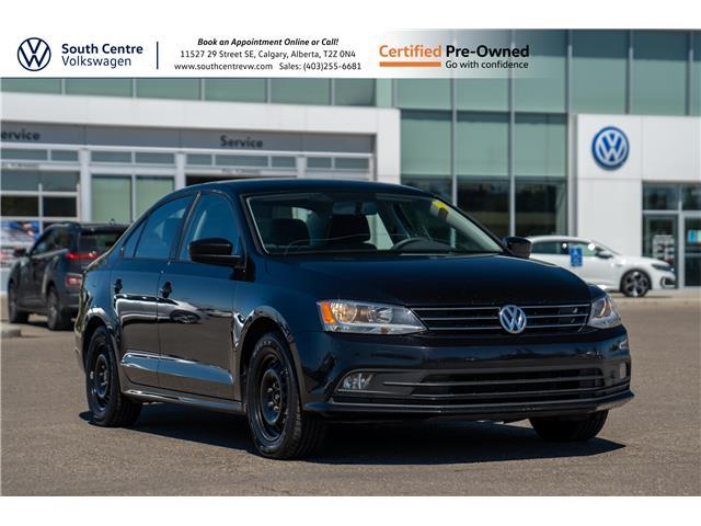 2017 Volkswagen Jetta 1.4 TSI Trendline+ (Stk: U6665A) in Calgary - Image 1 of 33