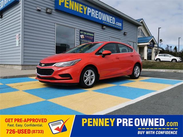 2017 Chevrolet Cruze Hatch LT Auto (Stk: MA1006) in Mount Pearl - Image 1 of 15