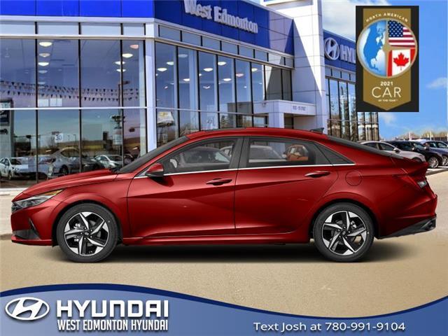 2021 Hyundai Elantra Preferred w/Sun & Tech Pkg (Stk: EL16627) in Edmonton - Image 1 of 1