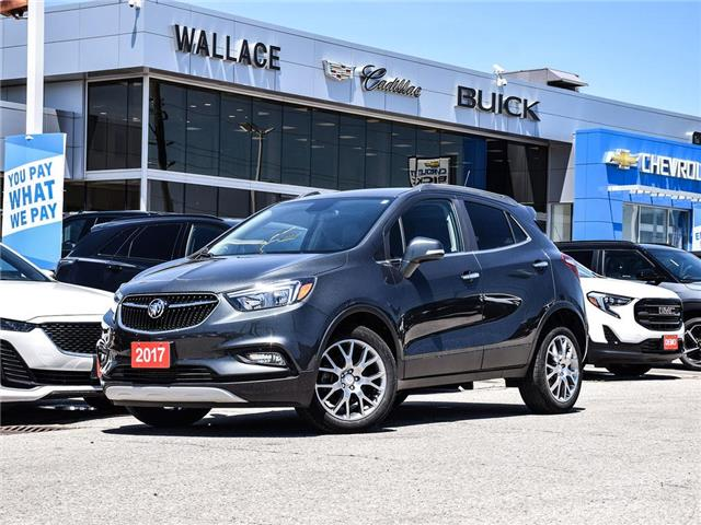 2017 Buick Encore FWD, Sport Touring, REMOTE SRT, BACK UP CAM, (Stk: 187943A) in Milton - Image 1 of 25