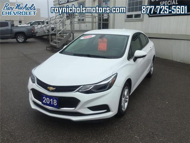2018 Chevrolet Cruze LT Auto (Stk: P6743) in Courtice - Image 1 of 14