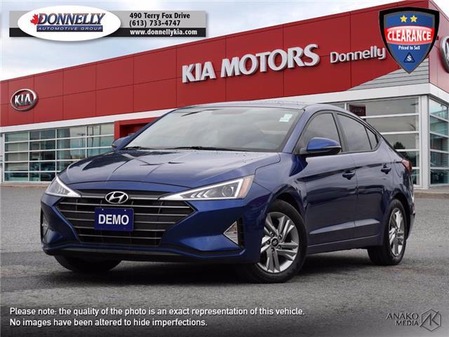 2019 Hyundai Elantra Preferred (Stk: KU2544) in Ottawa - Image 1 of 27