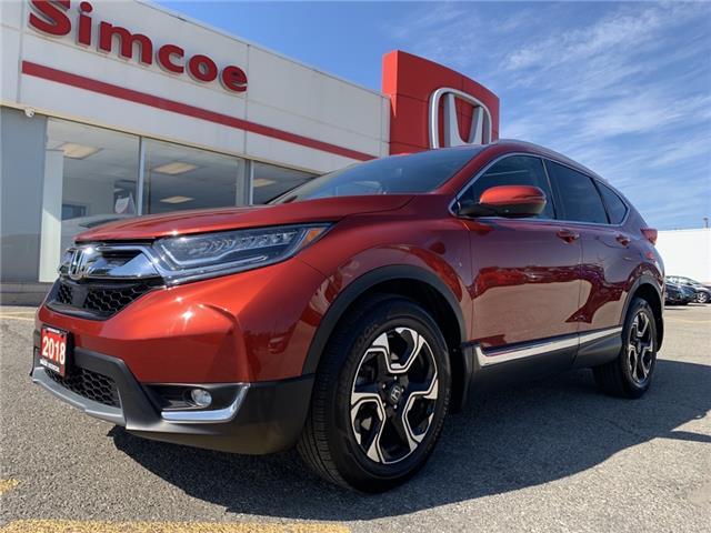 2018 Honda CR-V Touring (Stk: SH250) in Simcoe - Image 1 of 23