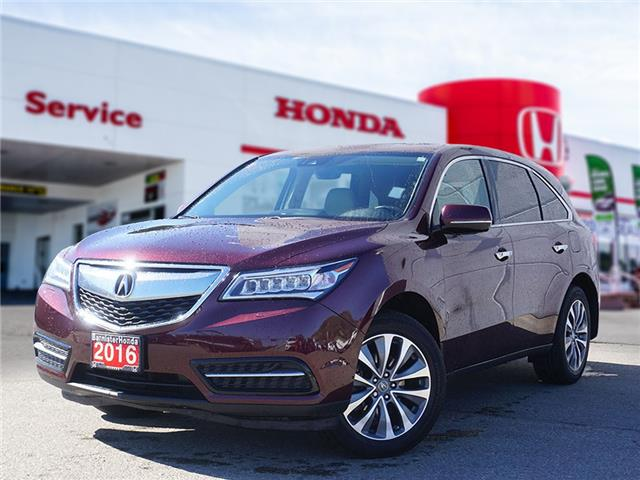 2016 Acura MDX Navigation Package (Stk: P21-139) in Vernon - Image 1 of 2