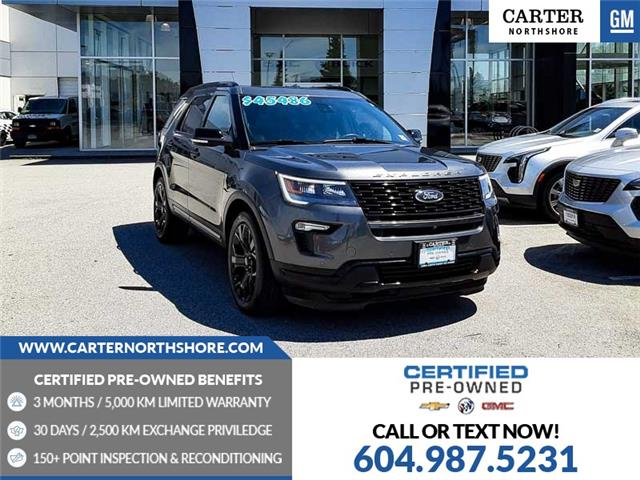 2019 Ford Explorer Sport (Stk: T49884) in North Vancouver - Image 1 of 29