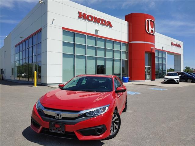 2017 Honda Civic EX (Stk: 21-122A) in Stouffville - Image 1 of 16