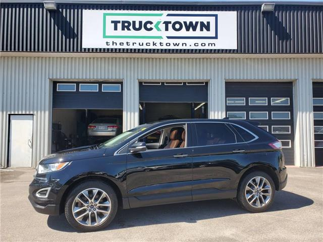 2018 Ford Edge Titanium (Stk: T0443) in Smiths Falls - Image 1 of 26