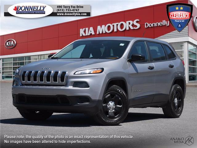 2016 Jeep Cherokee Sport (Stk: KU2550) in Kanata - Image 1 of 26
