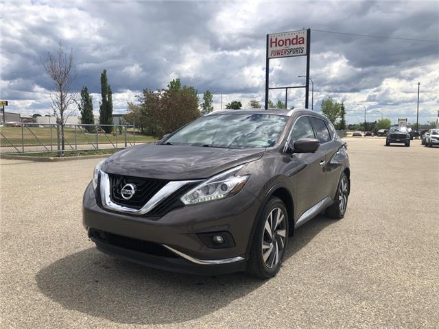 2017 Nissan Murano Platinum (Stk: H14-5084A) in Grande Prairie - Image 1 of 27